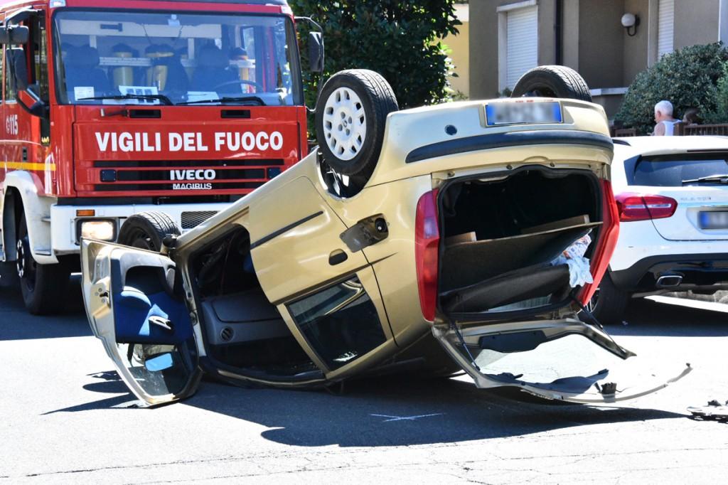 Incidente via Manfredi