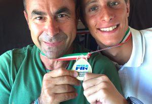 Lo squalo piacentino fa incetta di medaglie: ancora un oro per Giacomo Carini