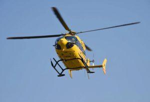Auto ribaltata a Castell'Arquato, grave la donna al volante