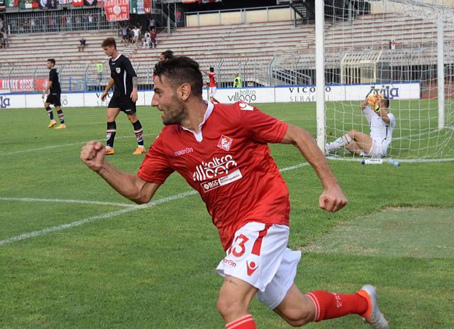 Piacenza Calcio Lupa Roma per P.Gentilotti ( Foto DEL PAPA ) Franchi esultanza