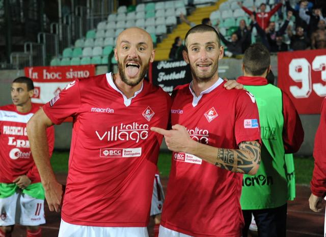 Piacenza Calcio Siena  (FotoDELPAPA) Cazzamalli e Pergreffi
