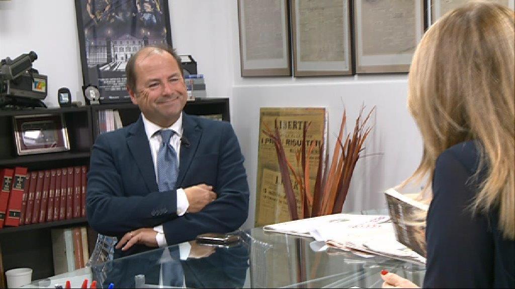 """Luigi Bacialli torna a Libertà per un giorno: """"Da giornale austero a quotidiano aperto"""""""