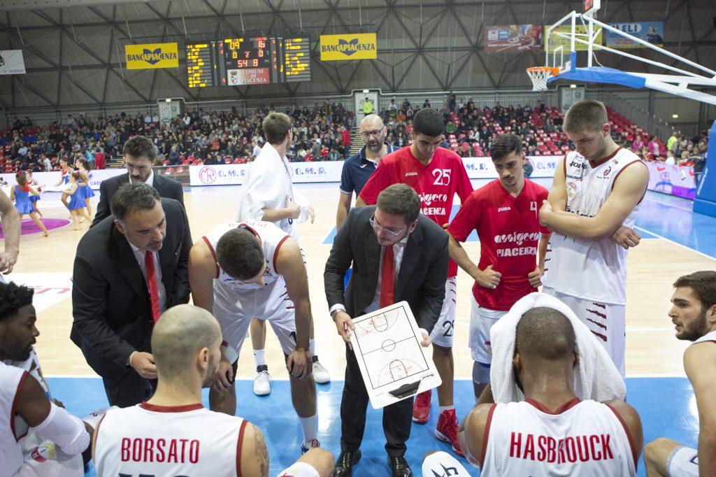 Basket Assigeco vs Forlì - Coach Andreazza (danani) petrarelli.a