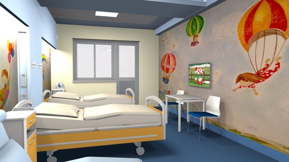 Pediatria a misura di bambino, al via i lavori di restyling. Parte la raccolta fondi
