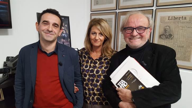 """Maj a Nel Mirino: «Il sistema teatro cresce a Piacenza». Il sogno di aprire il """"Berzolla"""""""