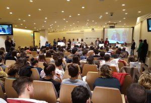 """""""Scuola di giornalismo"""", centinaia di studenti al meeting conclusivo"""