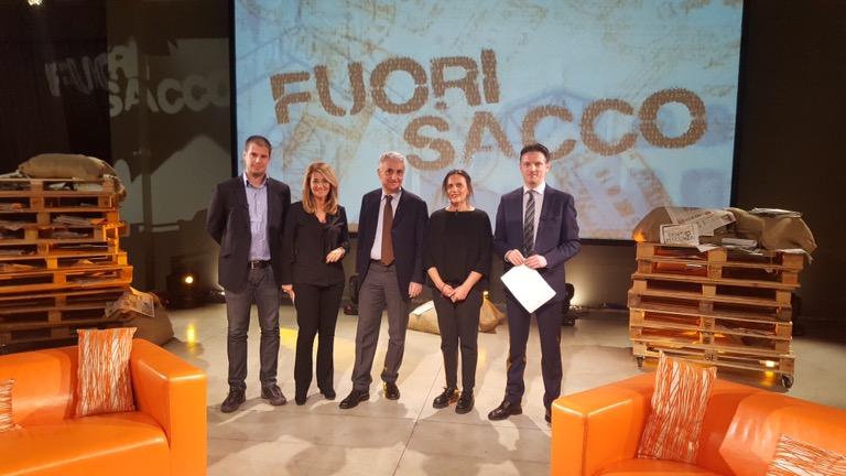"""L'ex ministro Quagliariello a Fuori Sacco: """"Economia italiana tra le peggiori in Europa"""""""