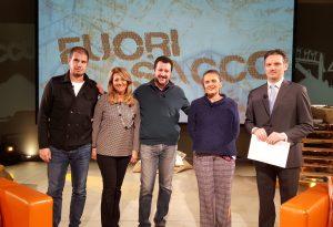 """Salvini a Fuori Sacco: """"Abbiamo il candidato sindaco per vincere"""""""