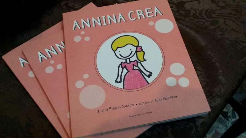 Ecco il libro annina crea il ricavato andr al progetto for Crea il tuo progetto di casa