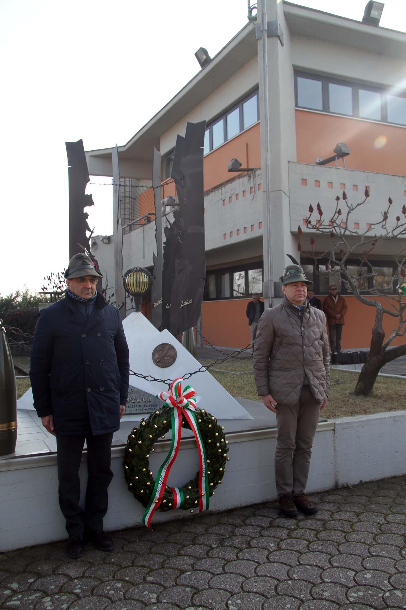 Battaglia di Nikolajewka, a Vigolzone 200 alpini per la commemorazione. Le foto