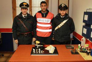 Fermato a Nibbiano con 30 grammi di cocaina: 59enne arrestato