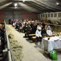 Borgotrebbia, per Sant'Antonio messa nella stalla e benedizione degli animali