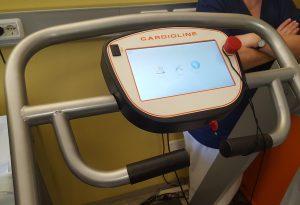 Tappeto per test da sforzo nei bimbi e defibrillatore donati alla Pediatria