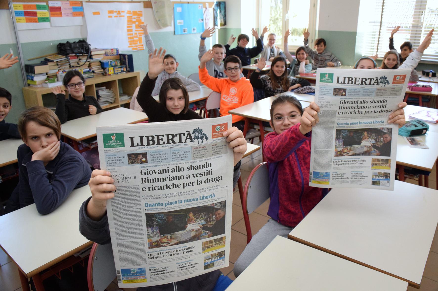 La nuova Libertà piace a tutti, anche ai lettori in erba