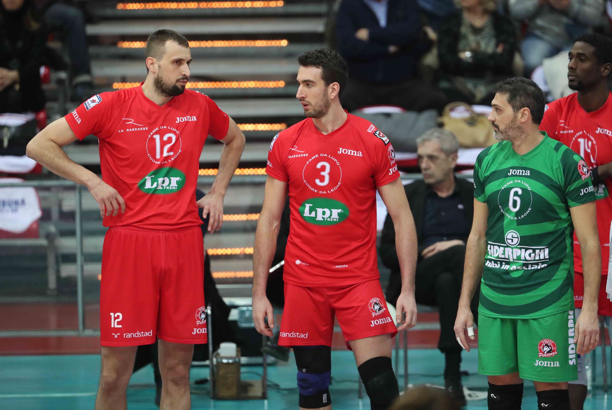Lpr Volley Piacenza- Gi Group Monza 2-3. FOTOGALLERY