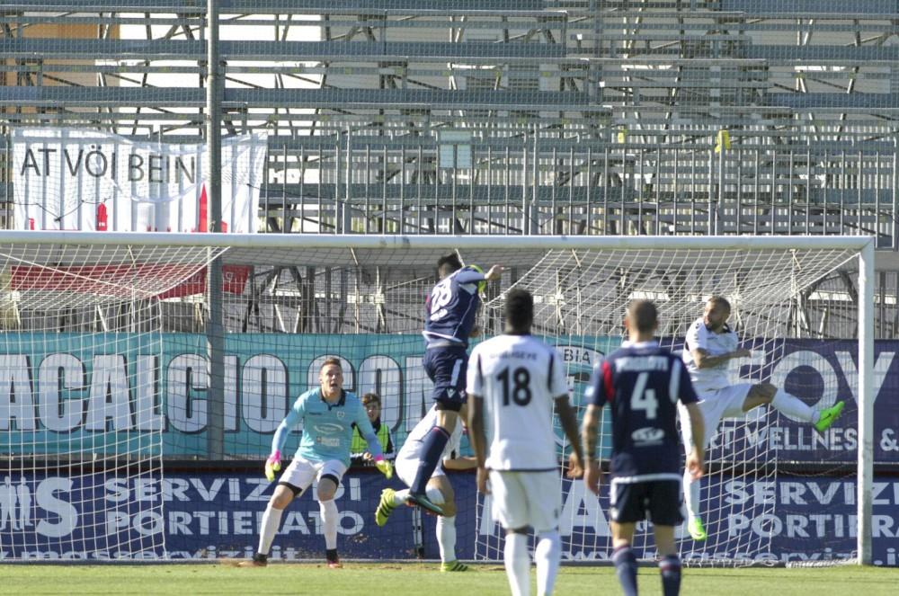 Olbia-Piacenza 1-3. GUARDA LA FOTOSTORIA
