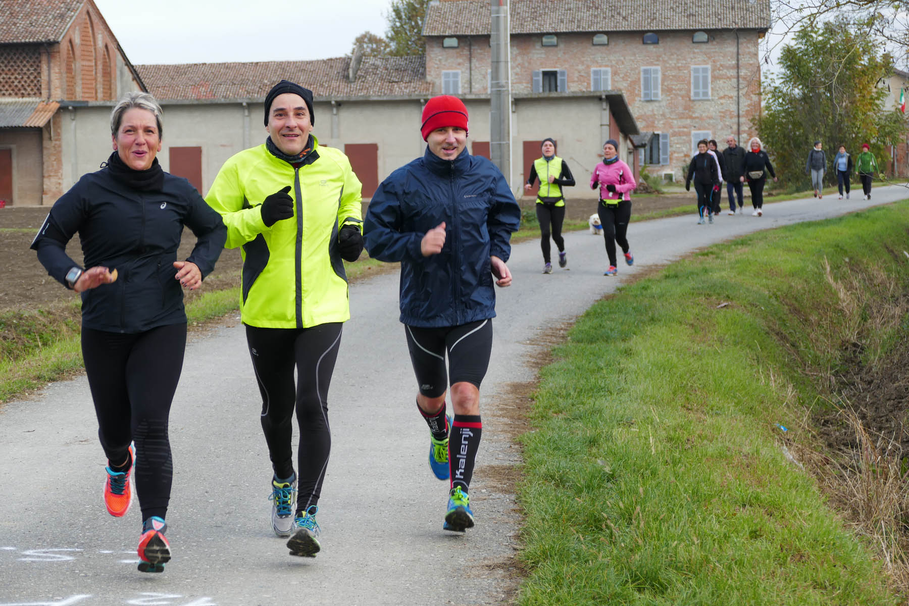 "Correre in Libertà: marciatori piacentini in ""trasferta"" sui colli salsesi"