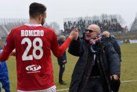 Romero fa tripletta, Miori-saracinesca: il Piacenza continua a volare