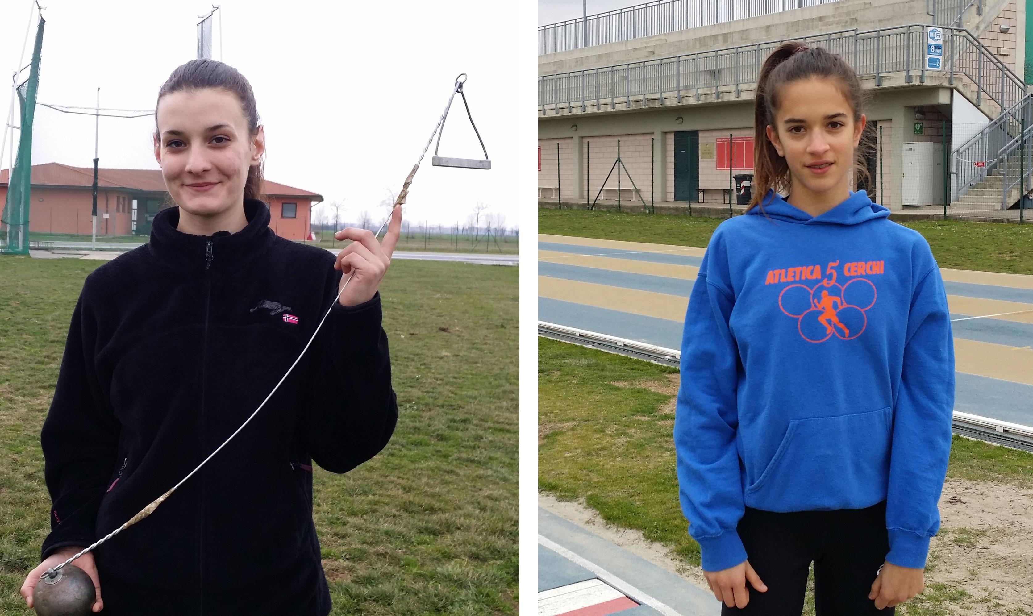 Atletica, record e argenti per le giovani piacentine Balordi e Anselmi