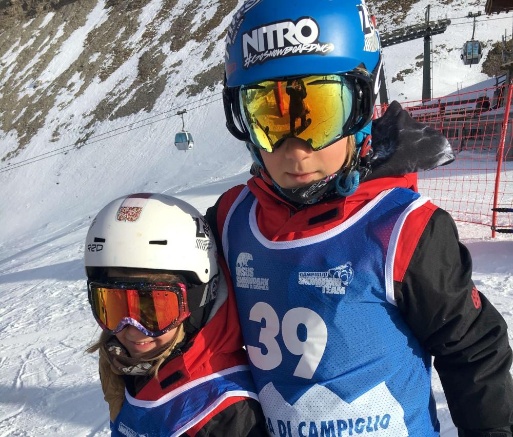 "Snowboard: Trofei e vittorie ""a valanga"" per i baby-fratelli Pagani"