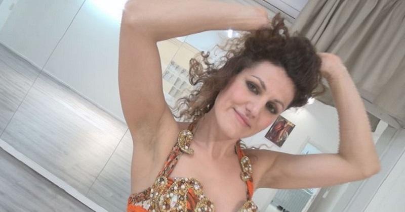 Ballerina piacentina pronta per i campionati di danza del ventre