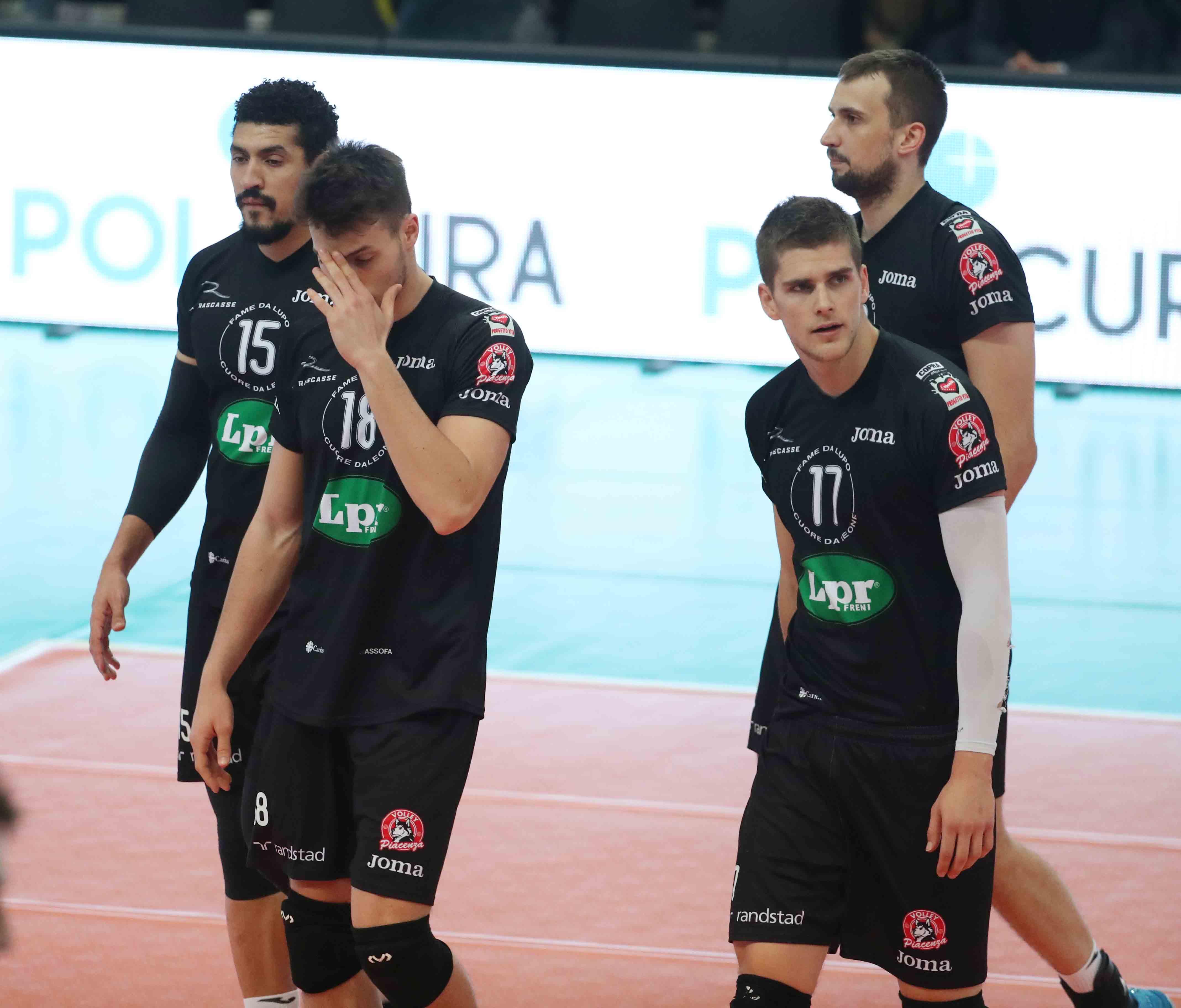 Lpr volley, il miracolo non riesce: Trento va in semifinale di coppa Cev