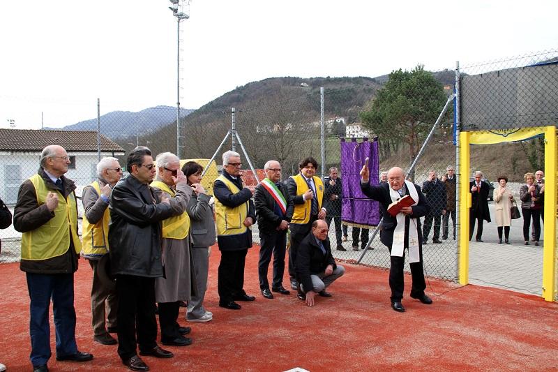 Inaugurato campo da tennis dedicato a Filippo Agnelli, disperso nell'alluvione del 2015
