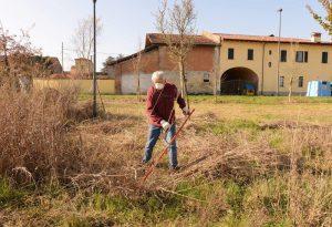 """""""Il comune non taglia l'erba, ci pensiamo noi"""". Ripuliti i giardini di """"Tino il marziano"""""""