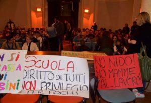 Fiorenzuola, aumentano le rette scolastiche. Proteste dei genitori
