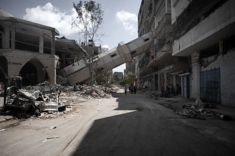 """""""La guerra di Gaza"""" negli scatti di Marco Bottelli. Oggi inaugura la mostra all'ex Macello"""