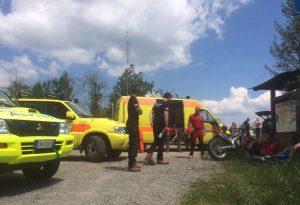 Colpito da malore durante la marcia: recuperato dal soccorso alpino
