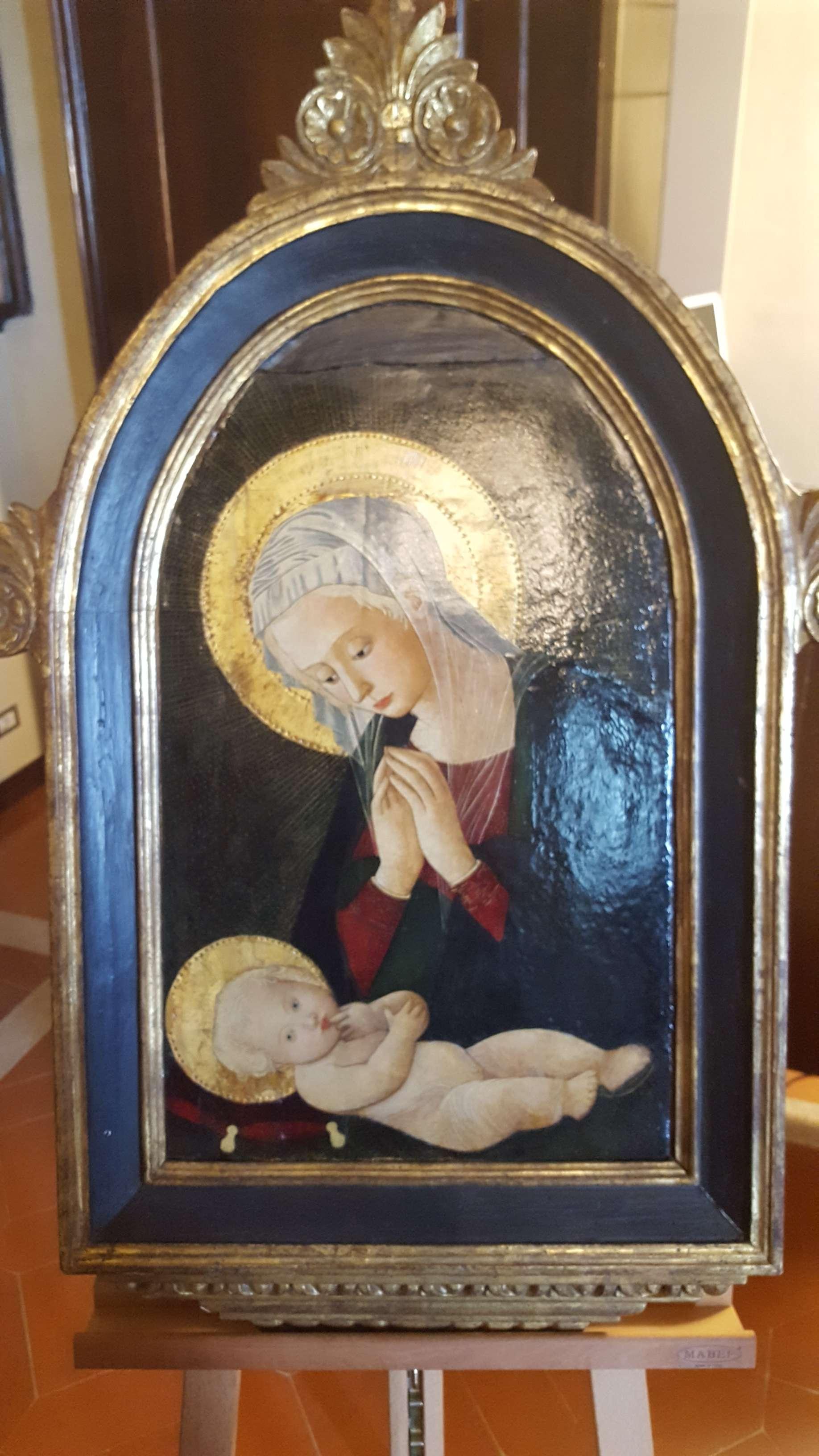 Dopo 47 anni torna a Castell'Arquato la Madonna con Bambino