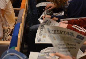 """""""Giornaliamo"""" ha festeggiato i 20 anni premiando i giovani giornalisti delle Medie"""
