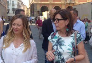 """Giorgia Meloni a Piacenza per sostenere Patrizia Barbieri: """"Prima i piacentini"""""""