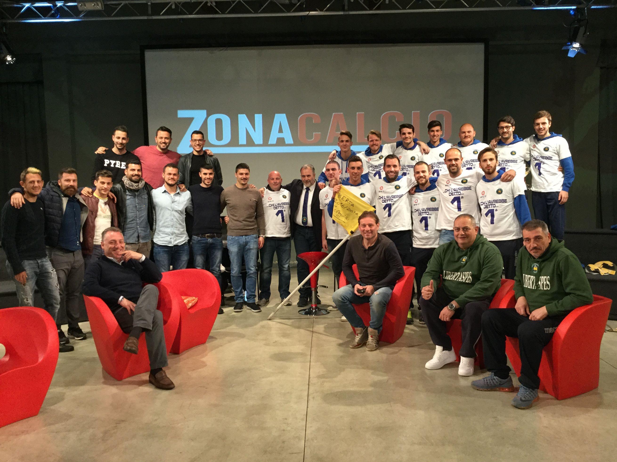 Le regine a Zona Calcio: Rottofreno e LibertaSpes festeggiano a Telelibertà