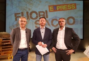 Fuori Sacco Express, protagonisti i candidati a sindaco di Monticelli
