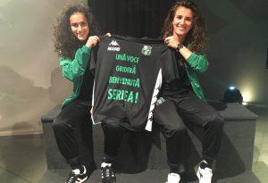 """Francesca e Paola, due piacentine in serie A con il Sassuolo. """"Troppo felici"""""""