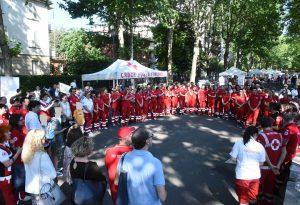 Croce Rossa in festa sul Pubblico Passeggio con 150 volontari e le premiazioni