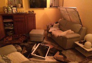Irruzione dei ladri in due case a Ziano: devastano tutto LE FOTO