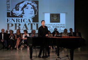 """Emozioni alle Rotative: il pianista De Padova vince il premio """"Enrica Prati"""""""