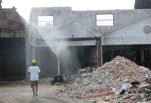 Ex Gabbiani: proseguono i lavori. Rimossi 1.200 quintali di amianto