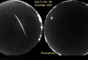 Meteorite nel Nord Italia: le immagini catturate dall'Osservatorio Alberoni