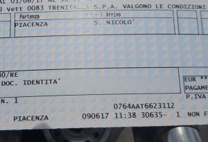 E' arrivato l'abbonamento: da oggi treno gratis tra Piacenza e San Nicolò