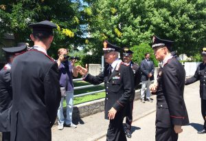 Il comandante generale Del Sette a Rivergaro: plauso ai carabinieri