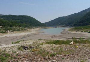 """Le dighe di Mignano e del Molato in caduta libera. Allerta temporali, gli esperti: """"Il caldo non darà tregua"""""""