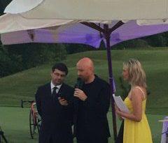 Anche Rudy Zerby per la grande notte al Golf Club di Castell'Arquato
