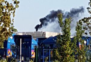 """Fumo nero dal forno crematorio. Il gestore: """"Guasto tecnico"""""""
