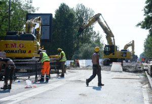 Ponte sul Trebbia, lavori a ritmo spedito. Il report della Provincia