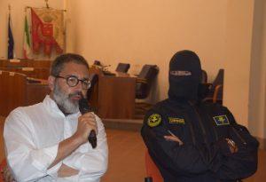 """Comandante Alfa ospite a Fiorenzuola: """"Il terrorismo si combatte tutti insieme"""""""
