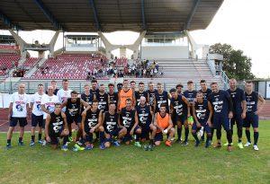 Il primo allenamento del Piacenza Calcio